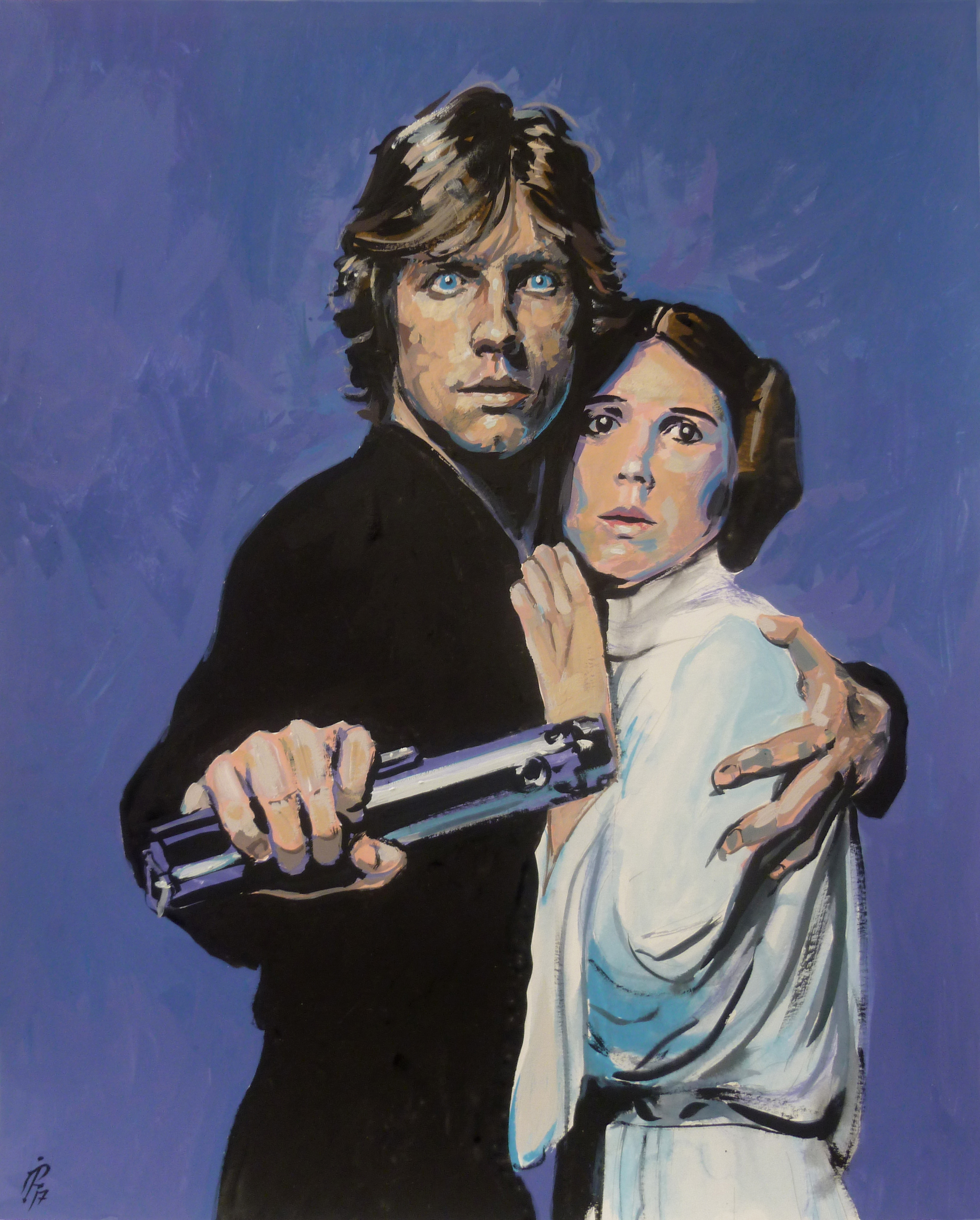 Star Wars Luke and Leia