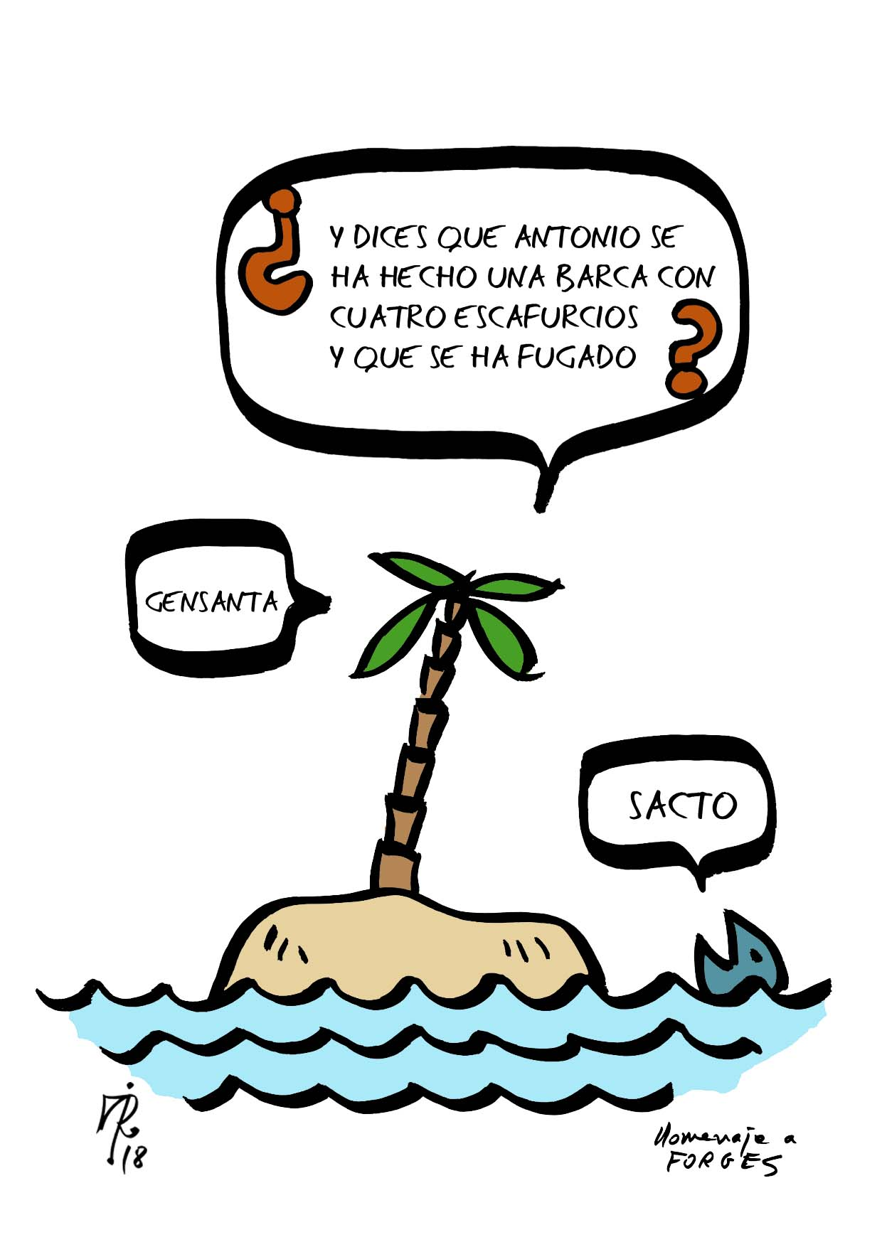 homenaje a Forges