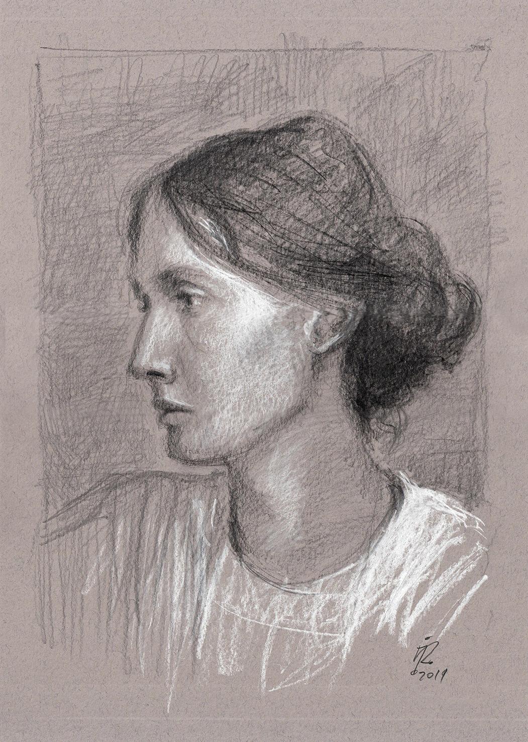 V WOOLF portrait