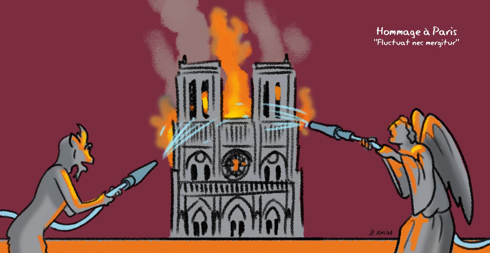 Notre-Dame, Hommage à Paris