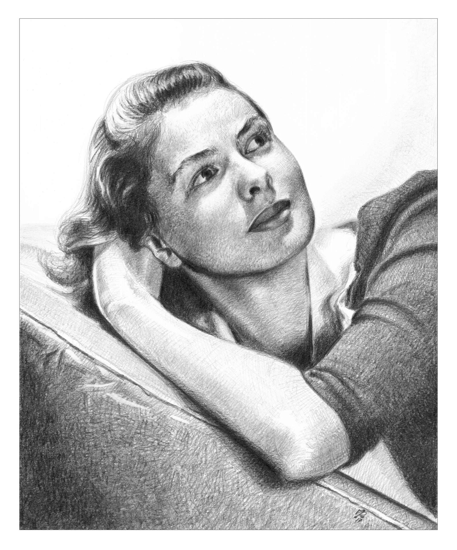 Ingrid-Bergman-portrait