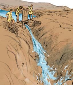 detalle escena minera