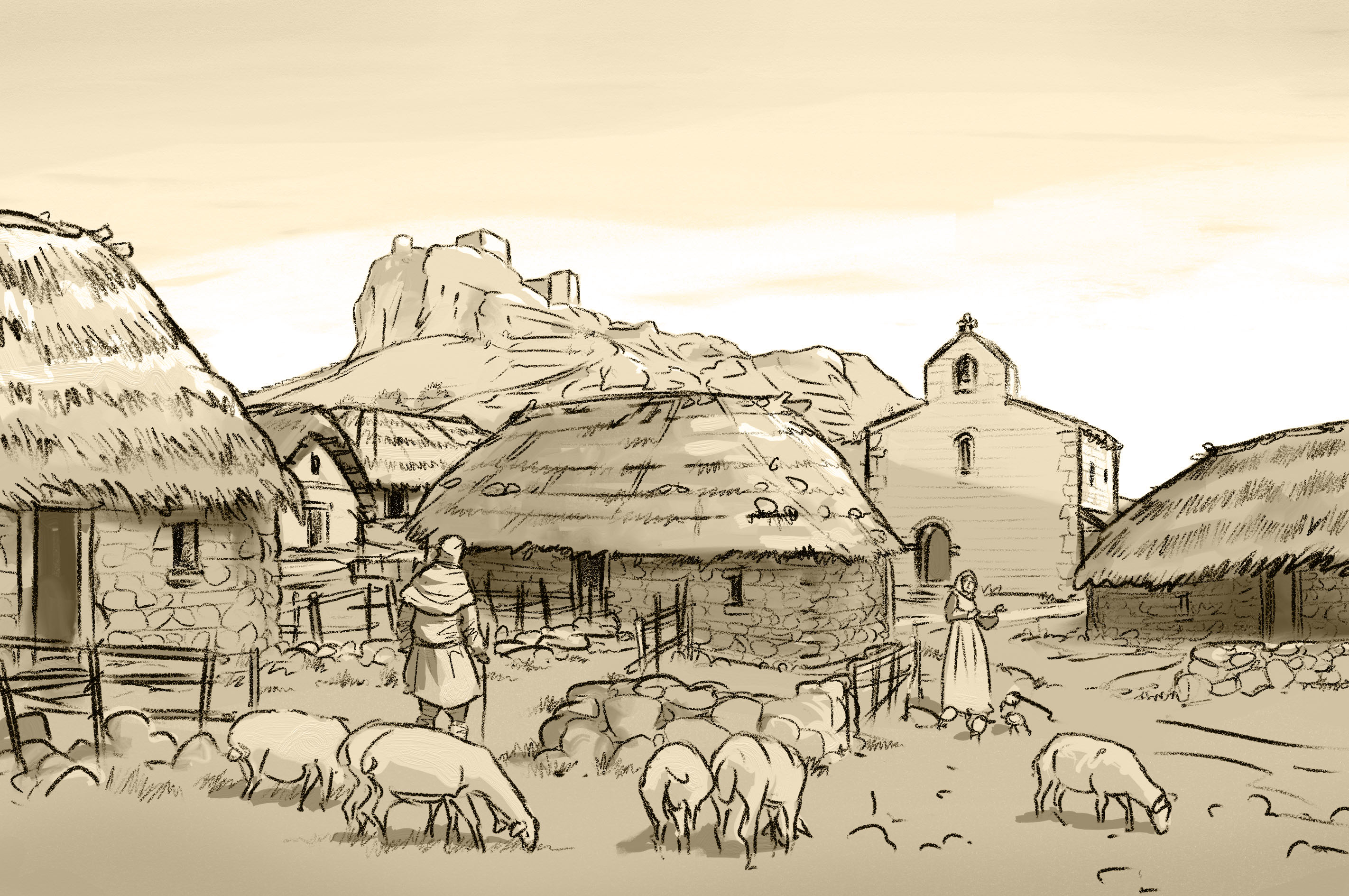 Peña Amaya medieval