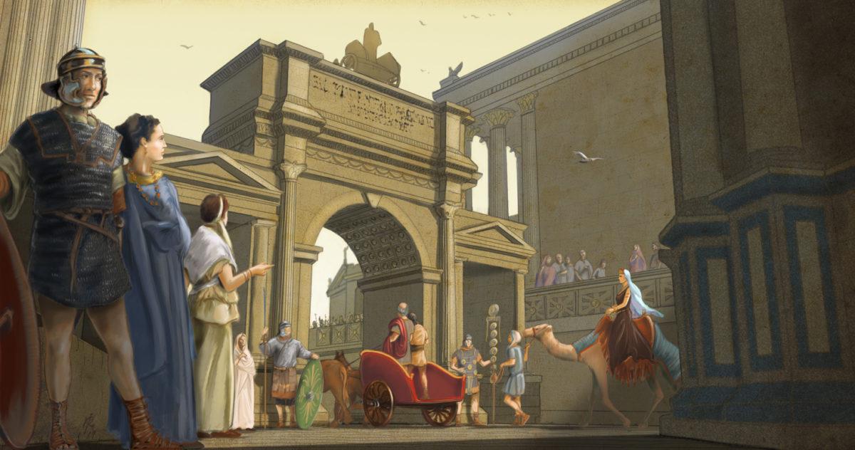 Zenobia, reina de Palmira (II parte)