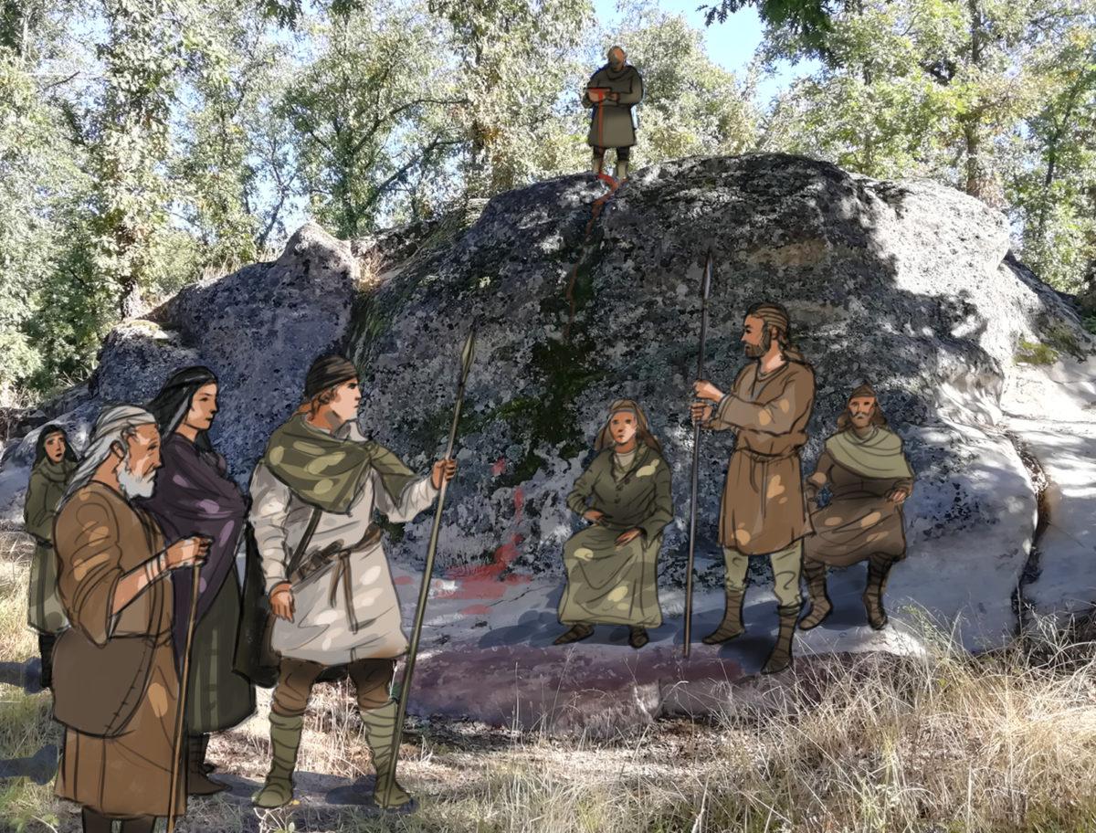 Altares célticos en la provincia de Burgos