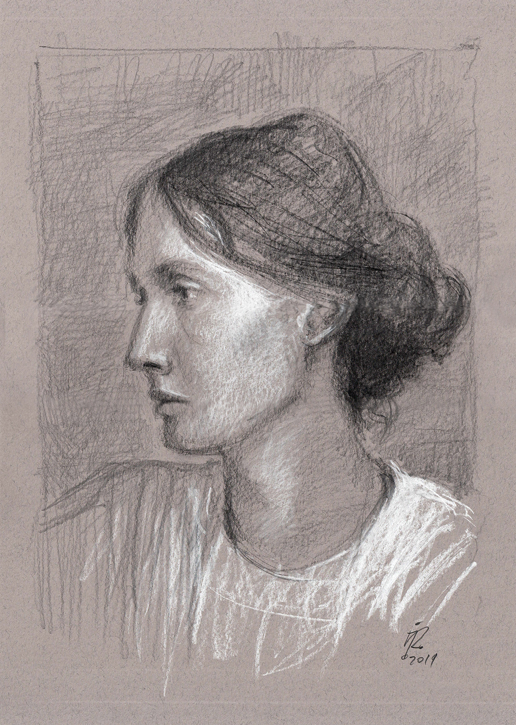 V WOOLF portrait