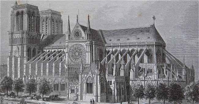 Notre-Dame de Paris avant la flèche 1