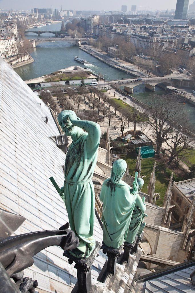 notre dame sculpture viollet le duc 2