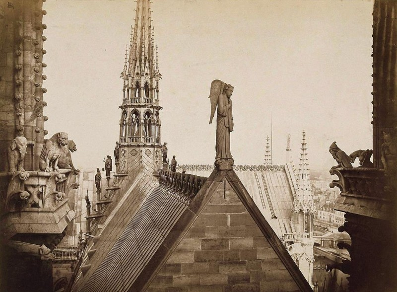 notre dame toiture 1863